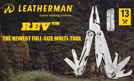 Leatherman Rev News